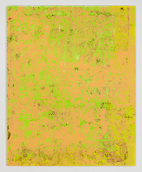 "Stephen Maine, ""P15-0704,"" 2015, acrylic on canvas, 80 x 64,"" photo by Etienne Frossard."